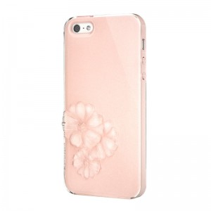 SwitchEasy Dahlia Sparkling Pink iPhone 5 en 5S