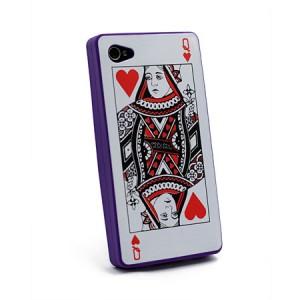Card Case paars iPhone 4 en 4S