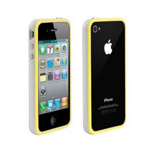 Bumper Duo Geel iPhone 4 en 4S