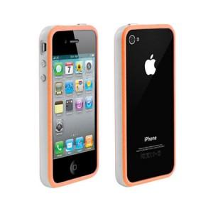 Bumper Duo Oranje iPhone 4 en 4S