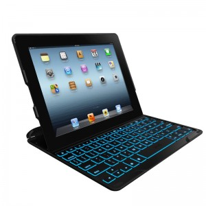 ZAGG ZAGGkeys PROfolio+ Bluetooth Keyboard Case Black iPad 2/3/4