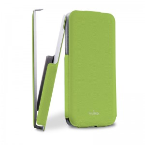 Puro Flipper Case Green iPhone 5C