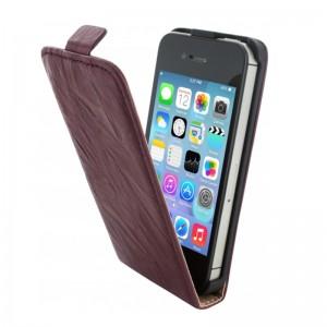 Mobiparts Vintage Flip Case Rubin iPhone 4/4S