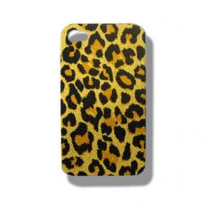 tijgerprint case Geel Oranje iPhone 4 en 4S