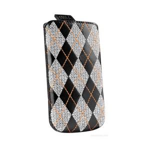 Sena Agryle insteekhoes Zwart iPhone 4 en 4S