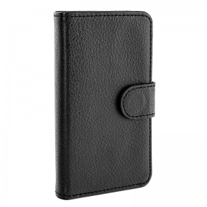 Xqisit Wallet Case Black iPhone 4 en 4S