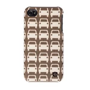 Orla Kiely back cover car park iPhone 4 en 4S