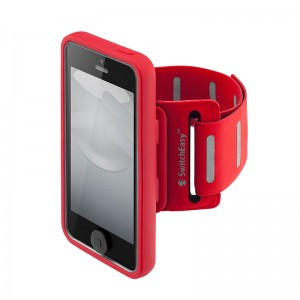 SwitchEasy Move Sportsarmband Red iPhone 5/5S
