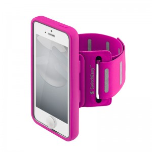 SwitchEasy Move Sportsarmband Pink iPhone 5/5S