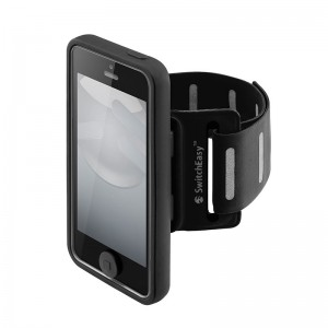 SwitchEasy Move Sportsarmband Black iPhone 5/5S