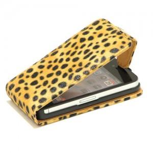 Colorfone Leopard Flippercase iPhone 4 en 4S