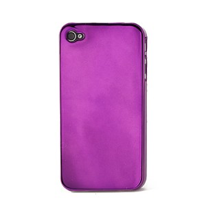 Shiny case paars iPhone 4 en 4S