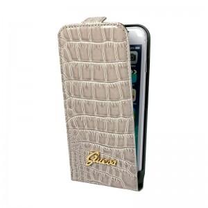 Guess Flap Case Croco Beige iPhone 6