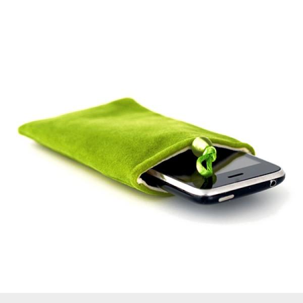 Fleece tasje groen