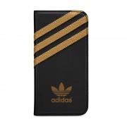 adidas Originals Booklet Case Black/Gold iPhone 5 en 5S
