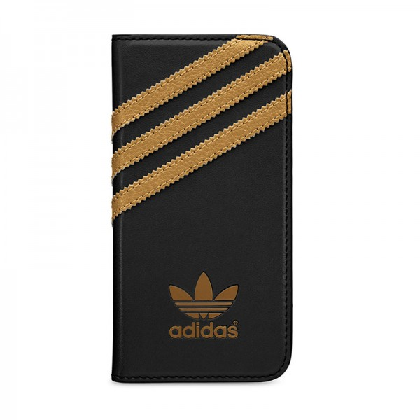 adidas Originals Booklet Case Black/Gold iPhone 5 en 5S