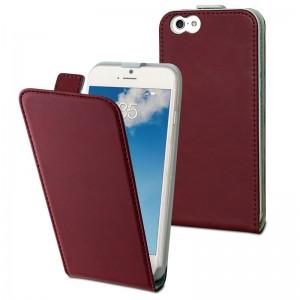 Muvit Slim Flip Red iPhone 6