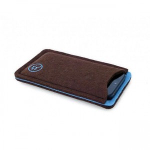 Waterkant Carrying Case Brown/Blue iPhone 5/5S