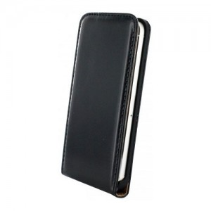 Mobiparts Premium Flip Case Black iPhone 6
