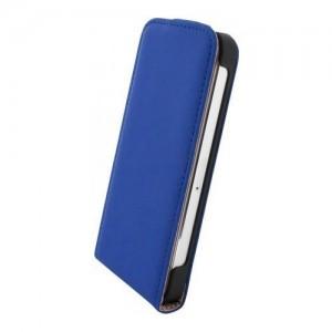 Mobiparts Premium Flip Case Blue iPhone 6