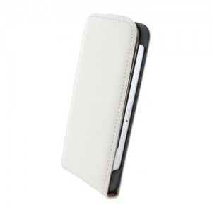 Mobiparts Premium Flip Case White iPhone 6