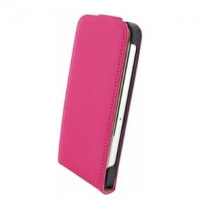 Mobiparts Premium Flip Case Pink iPhone 6
